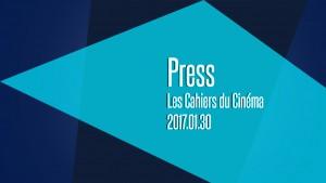 2017.01.30_Les Cahiers du Cinéma