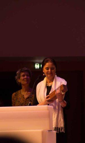 Marie Bro (Board Member) & Patricia Hidalgo