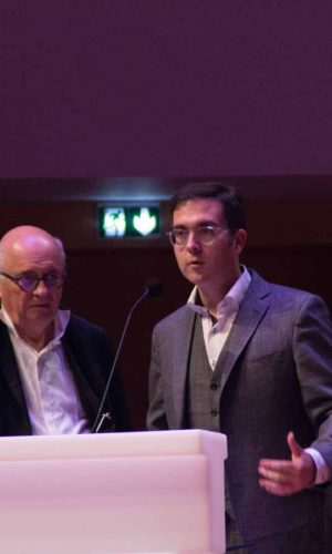 Didier Brunner (Board Member) & Tomm Moore (Jury Member)