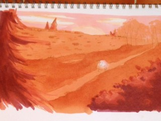 Over The Garden Wall Promarker Test