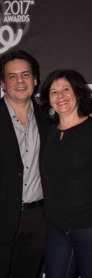 Olivier Catherin (Board Member) & Sylvie Porte